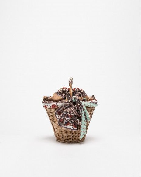 Dropp Wicker basket