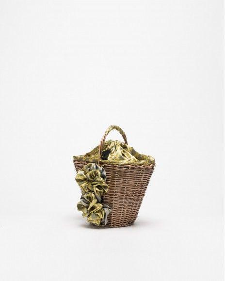 Dropp Wicker basket
