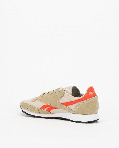 Reebok Classic 83 Beige//Orange CN3597 Men/'s Shoes Suede//Textile
