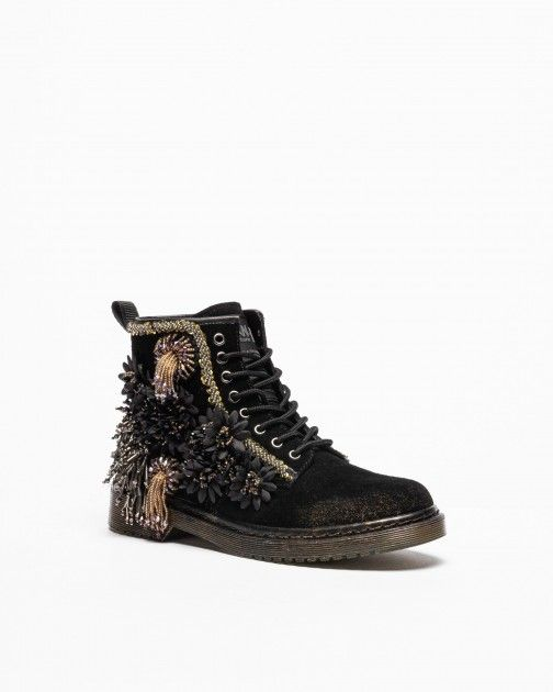NAN-KU Couture Ankle Boots