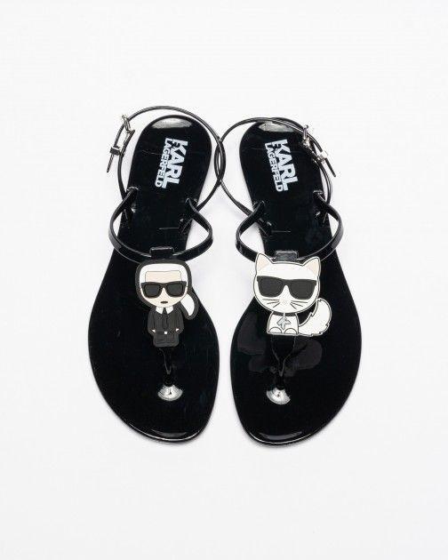 Sandálias Karl Lagerfeld