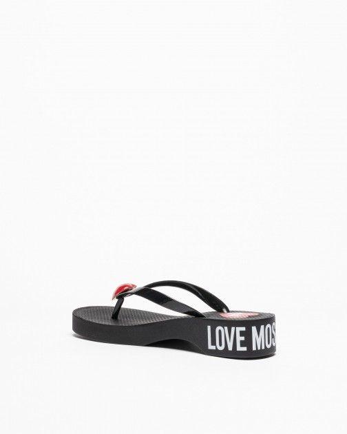 Chinelos Love Moschino