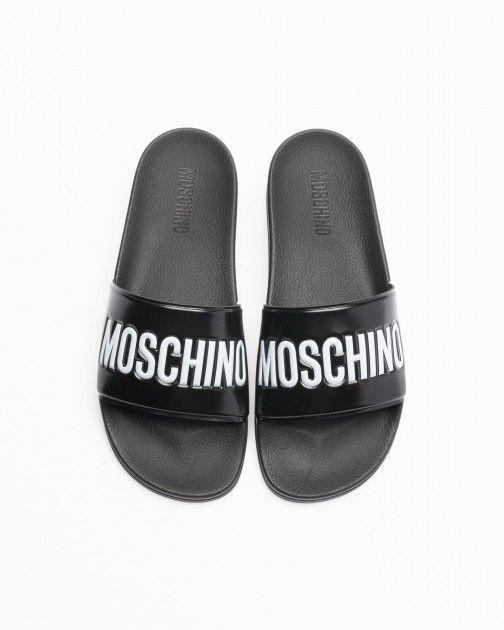 Chinelos Moschino