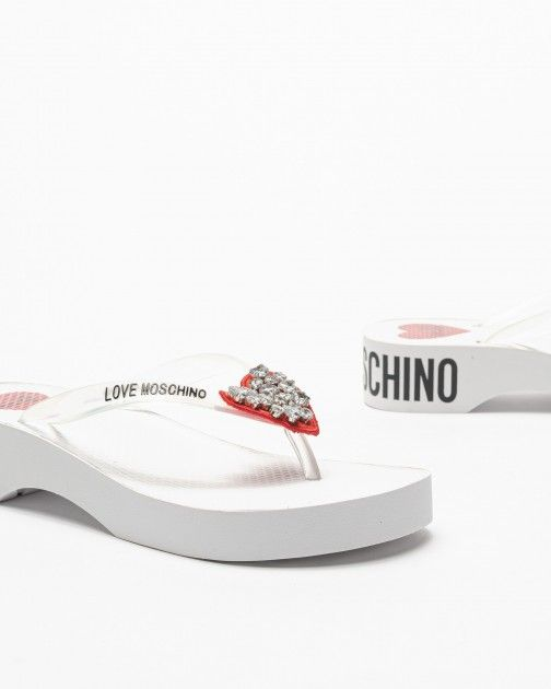 Chinelos Love Moschino